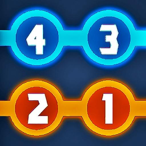 4321 Головоломка с линиями