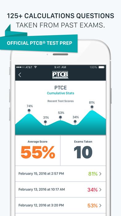 PTCB Calculations Questions Screenshot