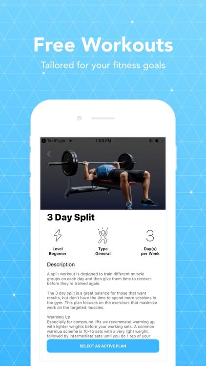 JEFIT Workout Planner Gym Log screenshot-0