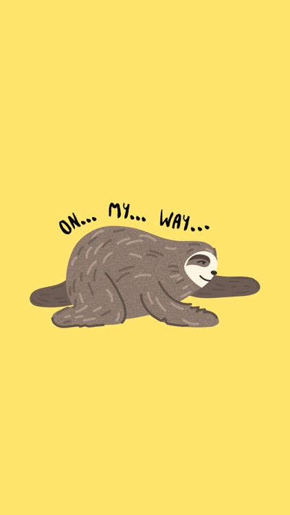 It's a Sloth Life Stickers screenshot-3