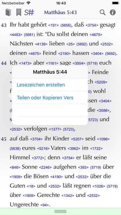 Importantia Strong-Bibel screenshot-5