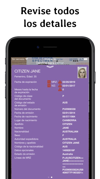 Screenshot for Regula Document Reader in Argentina App Store