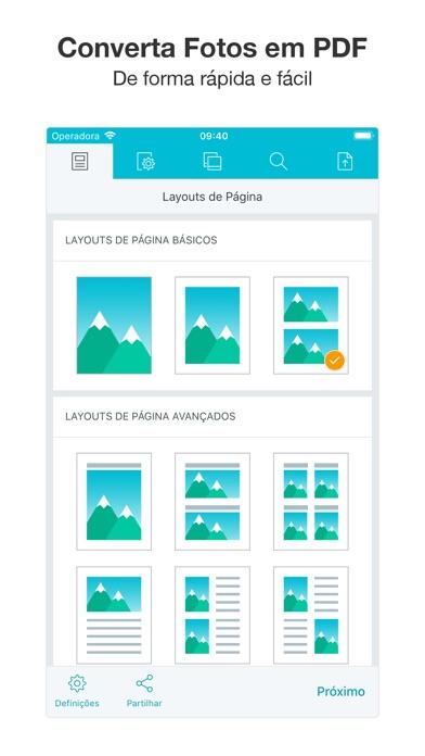 Screenshot for Foto PDF Converter in Portugal App Store