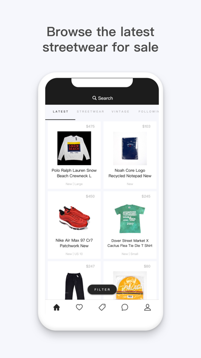 Download BUMP - Buy & Sell Streetwear for Pc