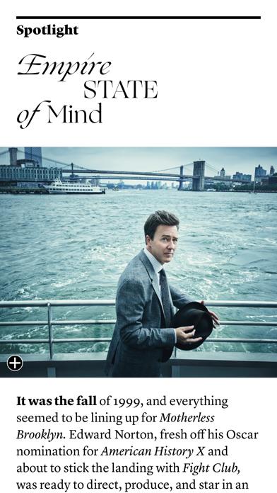 Vanity Fair Digital Edition review screenshots