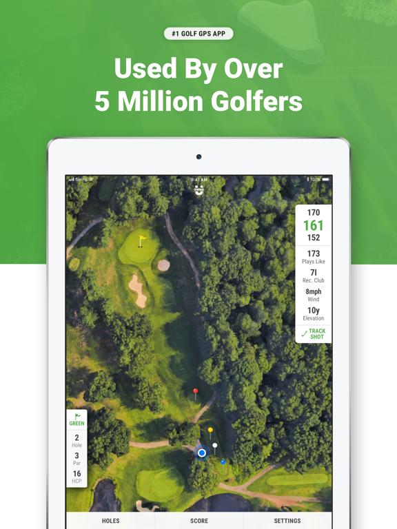 Golf GPS & Scorecard - Swing by Swing Golf screenshot
