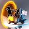 App Icon for Bridge Constructor Portal App in Egypt IOS App Store