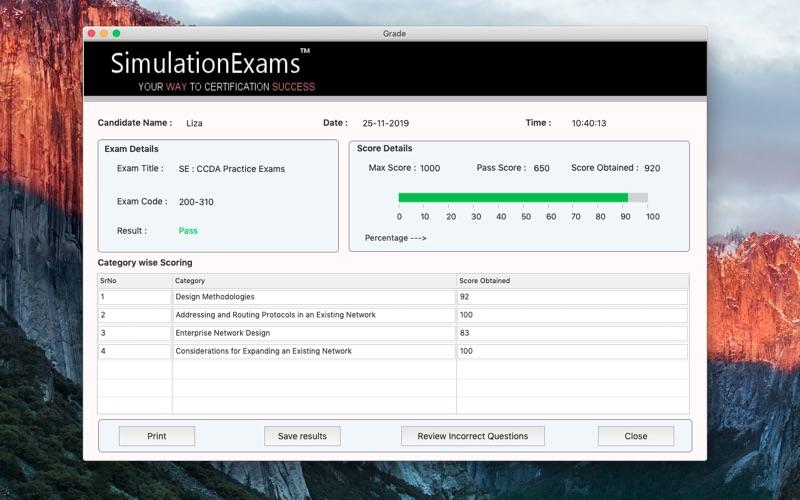 SE : CCDA Practice Exams for Mac