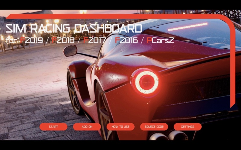 Sim Racing Dashboard for Mac