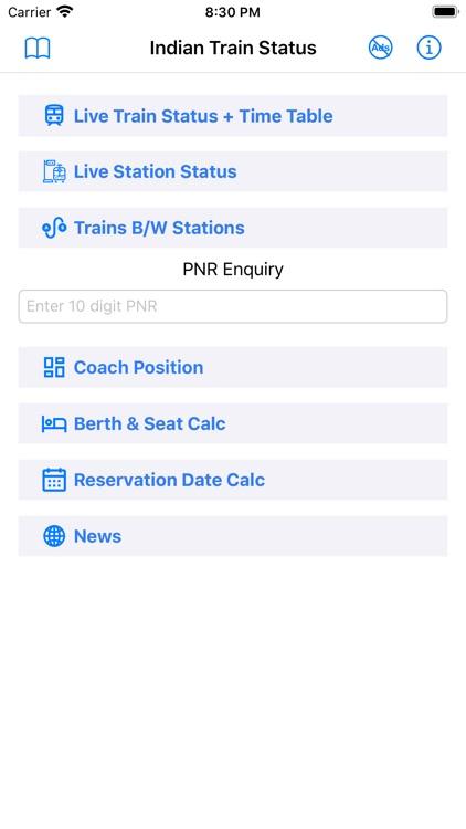 Train Status:Where's my Train? screenshot-3