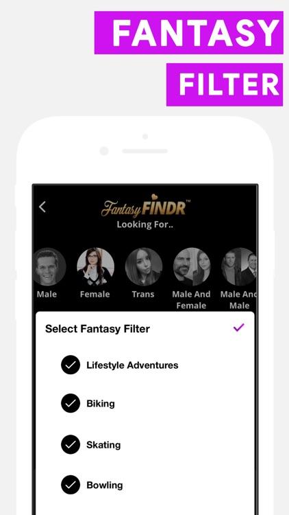 FantasyFINDR Online Dating App