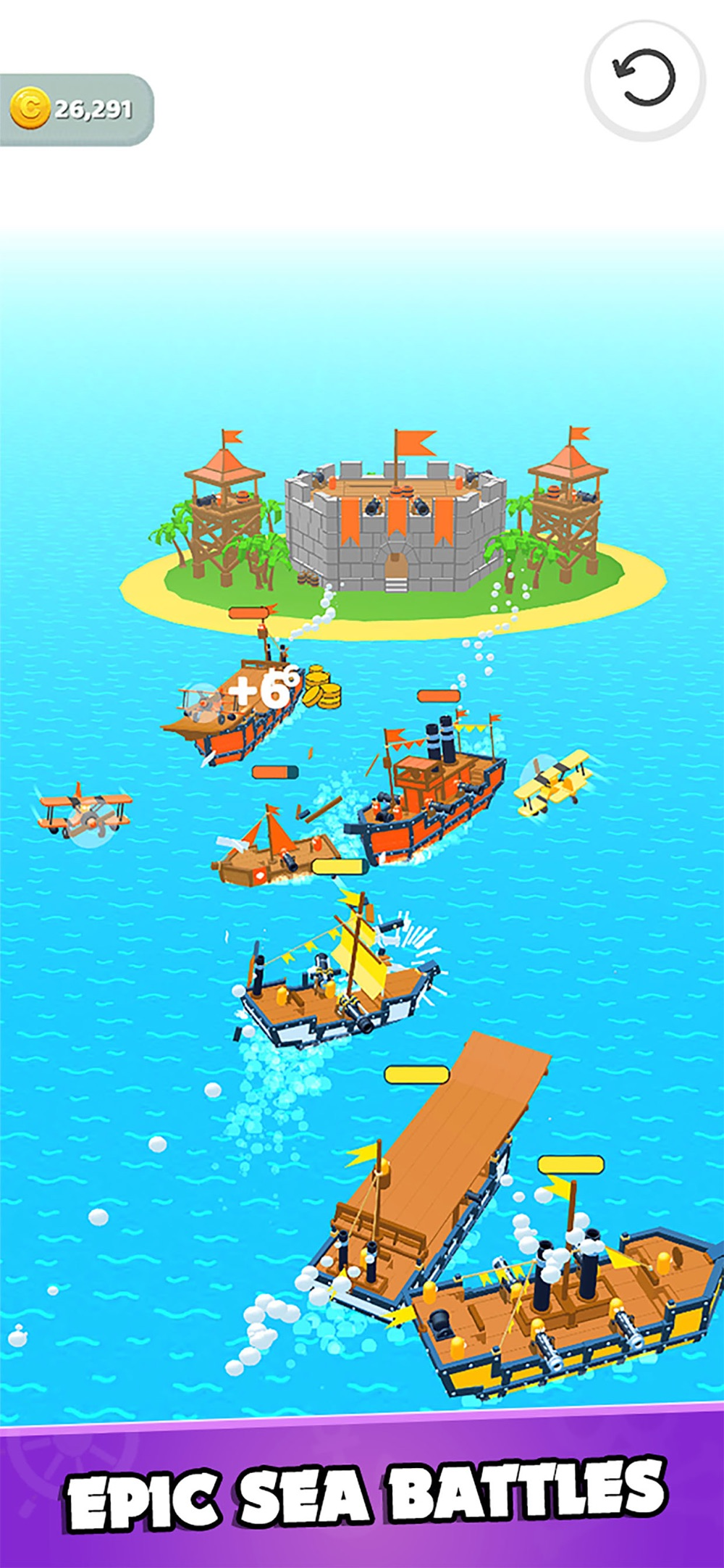 Sea Invaders! Cheat Codes