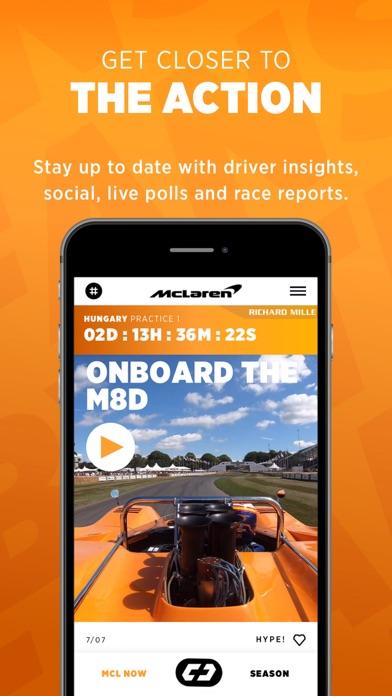 McLaren Racing screenshot two