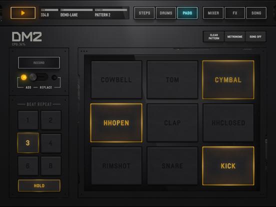 Screenshot #6 pour DM2 - The Drum Machine