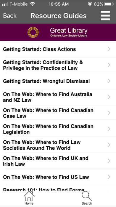 Ontario's Law Society Library screenshot four