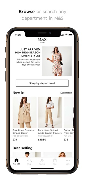 1669d900a M&S on the App Store
