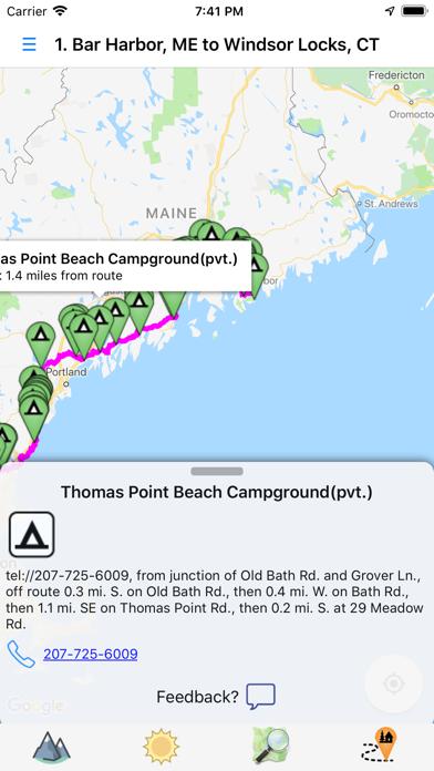Bicycle Route Navigator Screenshot