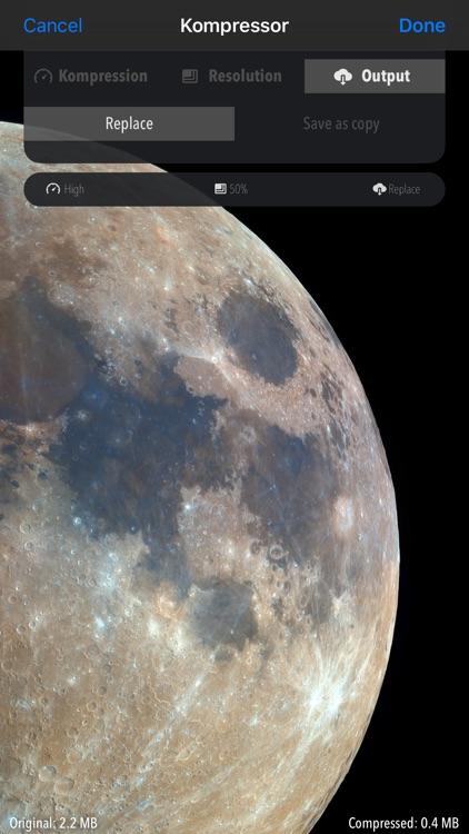 Kompressor - Compress images screenshot-3