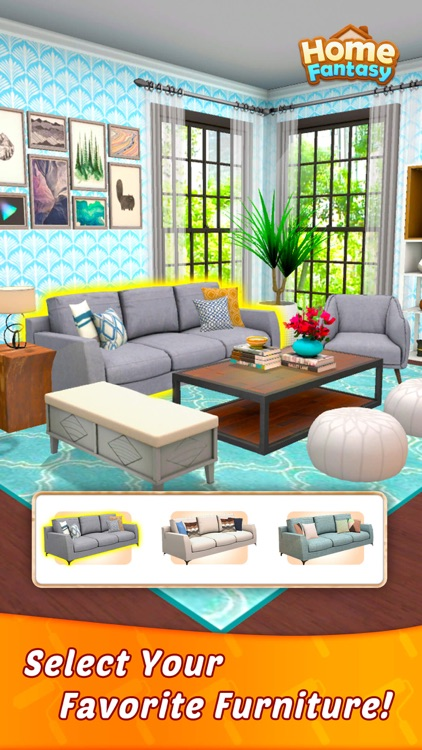 Home Fantasy: Home Design Game screenshot-0