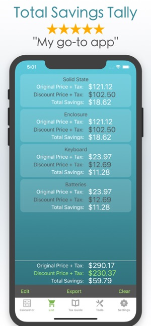 Discount Calculator % Off Sale on the App Store