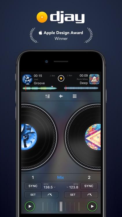 djay - DJ App & AI Mixer screenshot-0