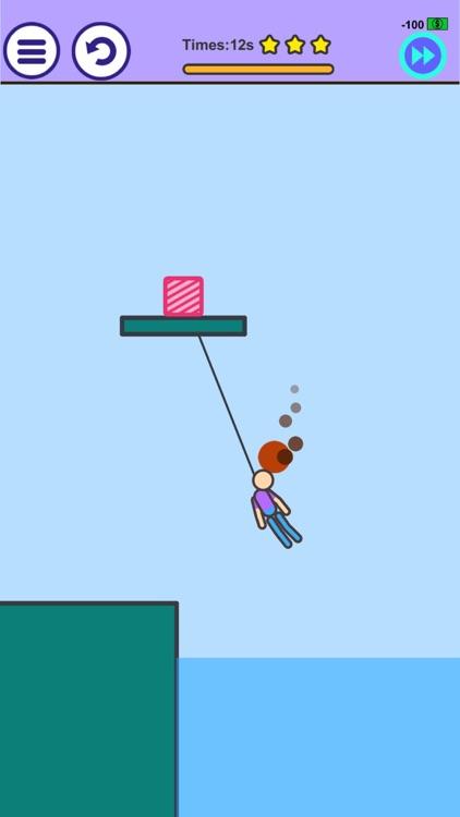 Man on Fire - Physics Game screenshot-3
