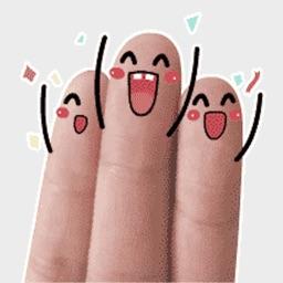 可爱手指STICKERS