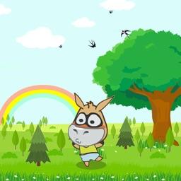 revolving donkey