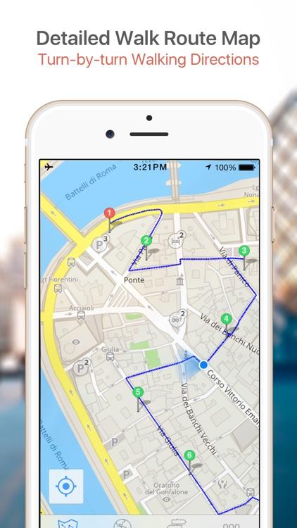 Haifa Map & Walks (F) screenshot-3