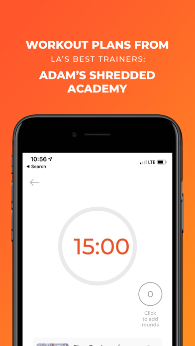 Screenshot for Fit! - the fitness app in United States App Store