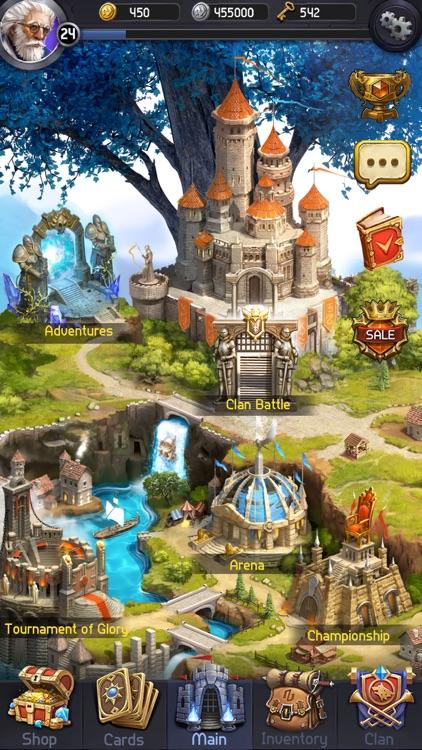 Card Heroes: Multiplayer Wars screenshot-5