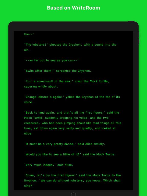 Writemator - Plain Text Editor Screenshots
