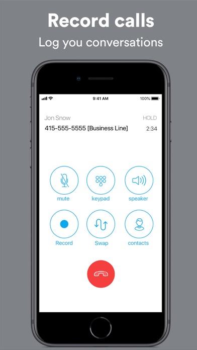 Ring4: Second Phone Number App Screenshot