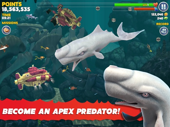 Hungry Shark Evolution-ipad-3