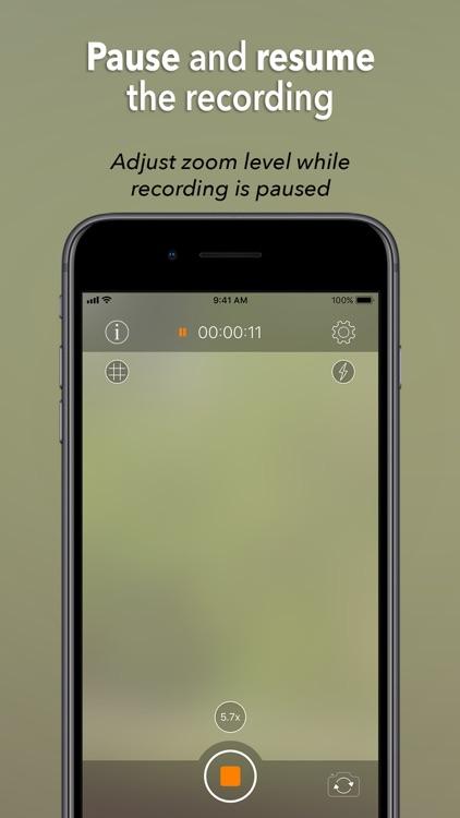 Instant Camo - Video Recording
