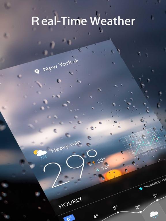 Live Weather: Alert & Forecast Screenshots
