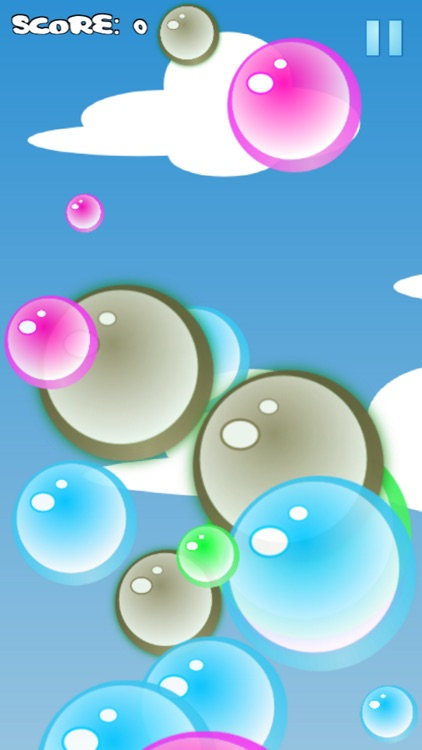 Popping Bubbles Game