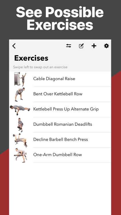 Gymster+ Weight Lifting Log
