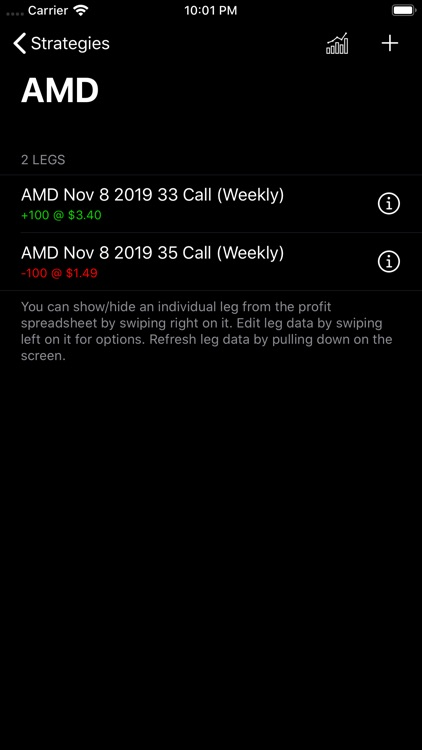 Options Profit Calculator screenshot-3