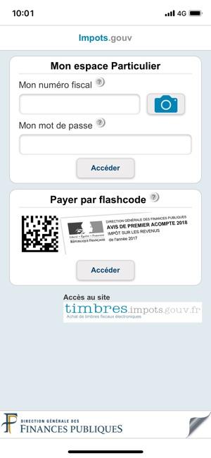 Impots Gouv Dans L App Store