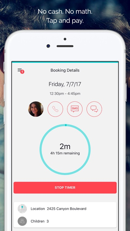 Sitter: Book & Pay Babysitters screenshot-3