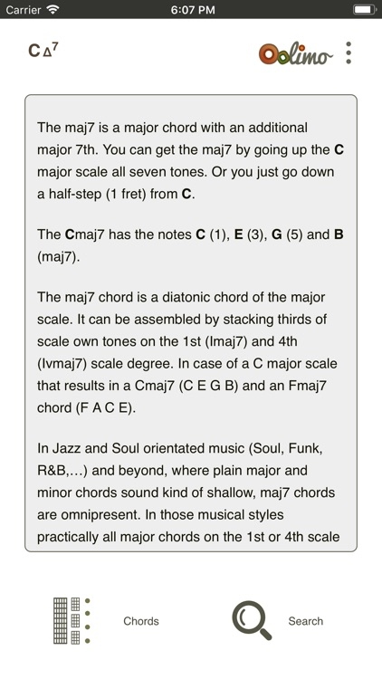 Oolimo Guitar Chords screenshot-5