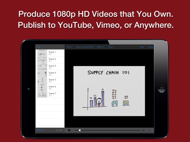 Vittle Pro Video Whiteboard screenshot-3
