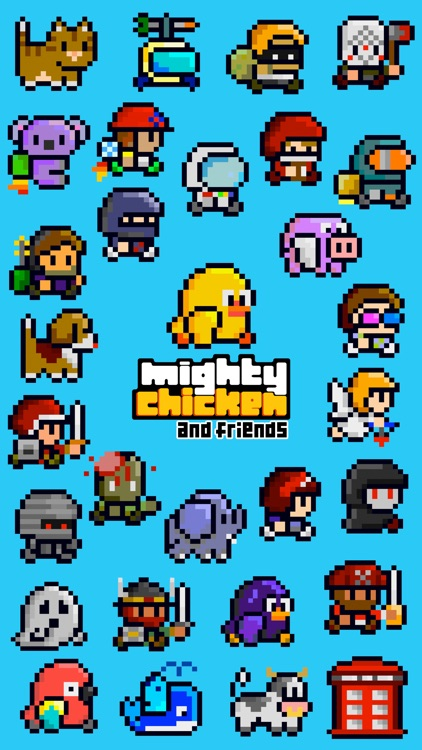 Mighty Chicken and Friends screenshot-6