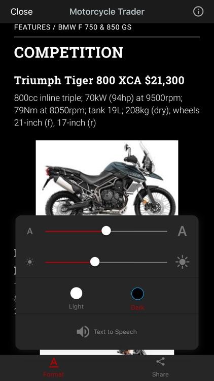 Australian Motorcycle Trader screenshot-3