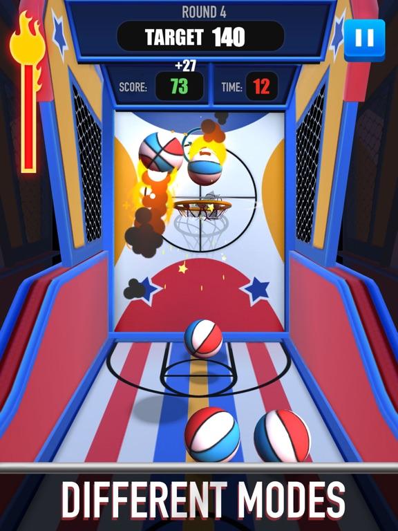Score King-Basketball Games 3Dのおすすめ画像2