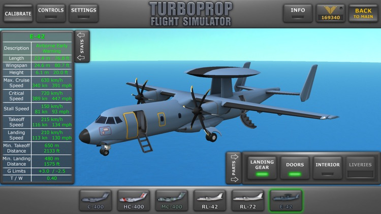 Turboprop Flight Simulator