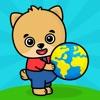 赤ちゃん、2歳、3歳、4歳のキッズゲーム・幼児向け動物パズル