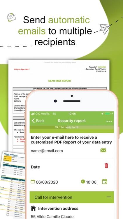 Kizeo Forms, Mobile forms screenshot-6