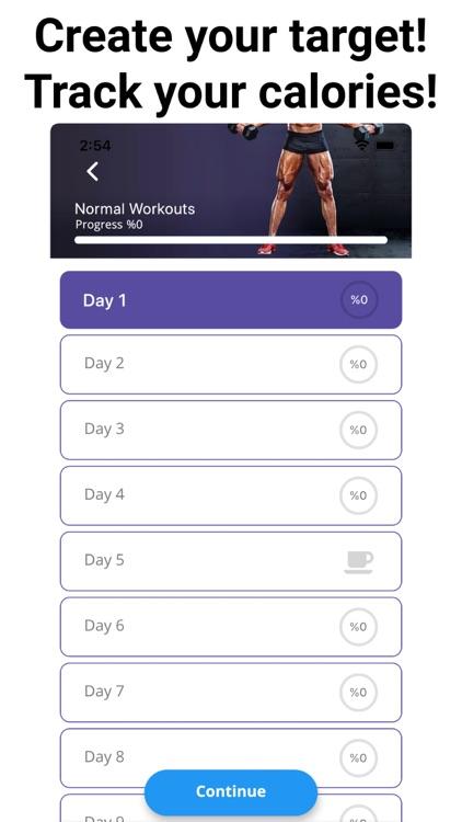 Leg Workouts Lower Body men screenshot-4